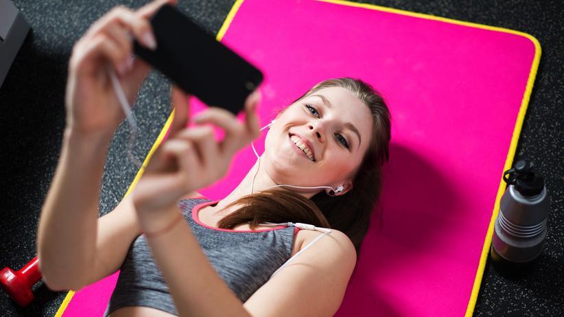Instagram: Nach dem Training einen Iso-Drink, ein Selfie und die Bewunderung der anderen.