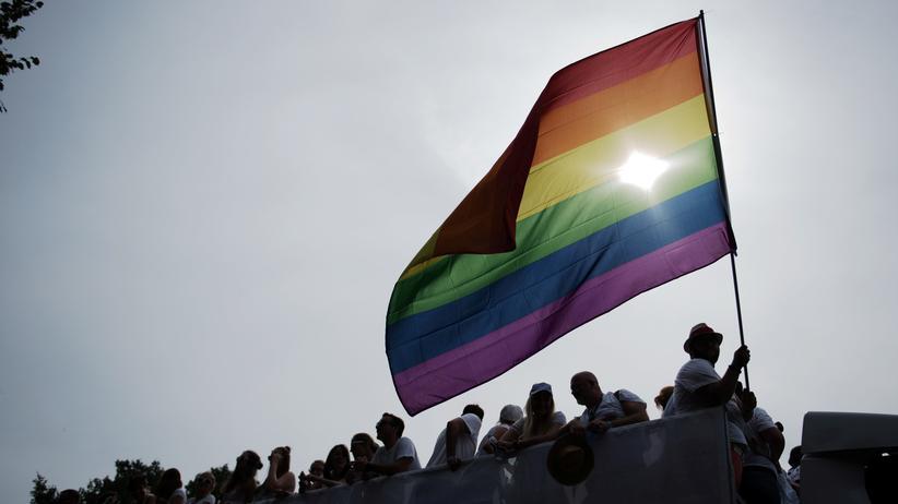 Flagge auf dem CSD 2016