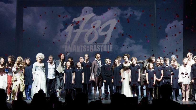 """History Crush: Die Revolution als Musical: """"1789, Les Amants de la Bastille"""" (Die Liebenden der Bastille) im L'Olympia in Paris"""