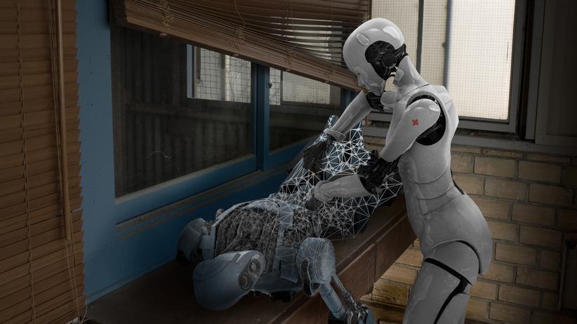 Künstliche Intelligenz: Roboter können sich nicht nur gegenseitig reparieren, sondern auch zerstören. Wer trägt die Verantwortung dafür?