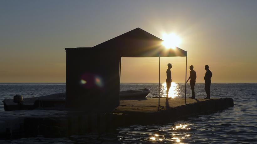 Kroatien: Sonnenuntergang an der Küste von Pula