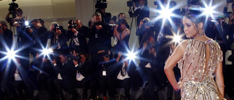 Fotografen auf dem roten Teppich