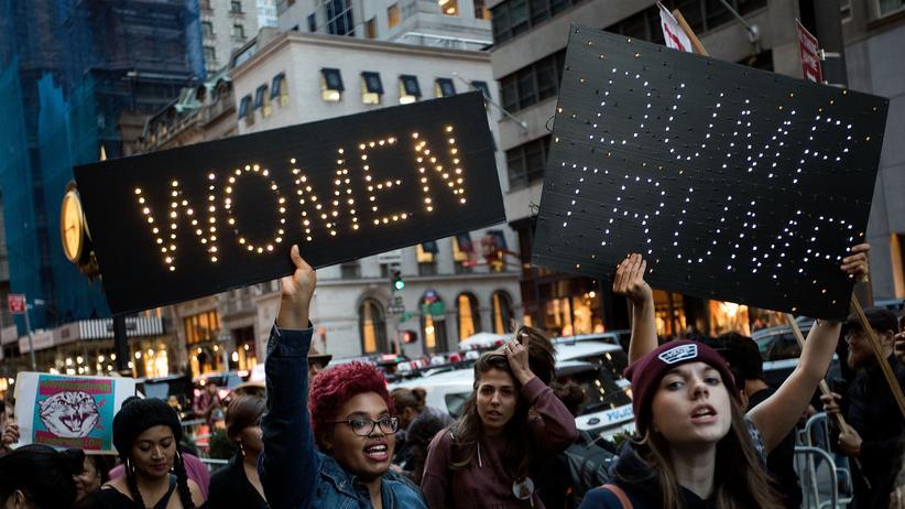 Donald Trump: Anti-Trump Proteste in New York