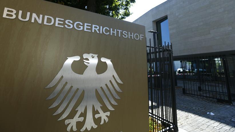 Bundesgerichtshof: Der Bundesgerichtshof in Karlsruhe