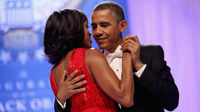 Liebesleben: First Couple: Barack und Michelle Obama 2013 beim Inaugurationsball in Washington