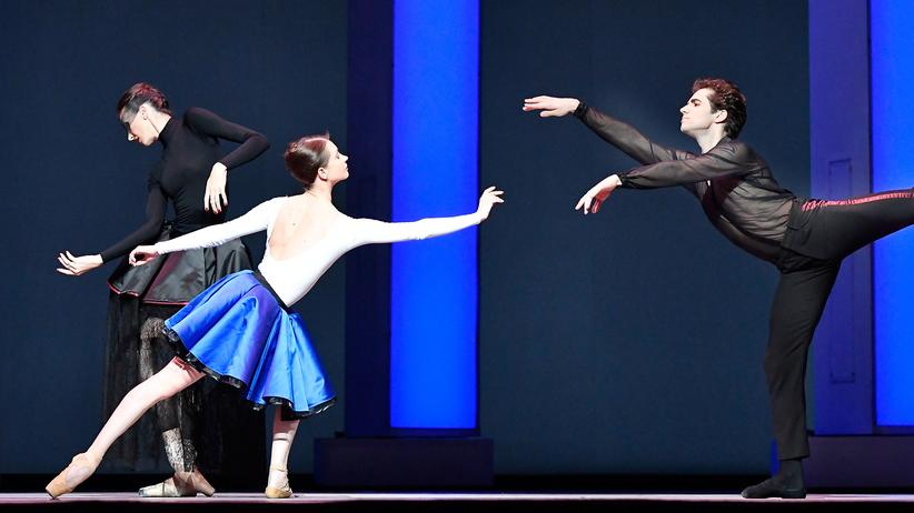 "Polyamorie: Tänzer des Bolschoi-Balletts in ""Der Widerspenstigen Zähmung"", 2016 im Royal Opera House London"