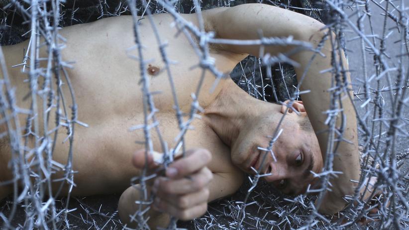 Aktionskünstler: Pjotr Pawlenski bittet um Asyl in Frankeich