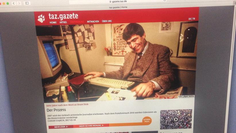 taz.gazete: Exil auf neuen Seiten