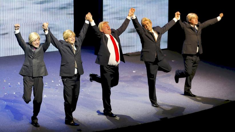 Trump-Satire: Wer wohl zuletzt lacht