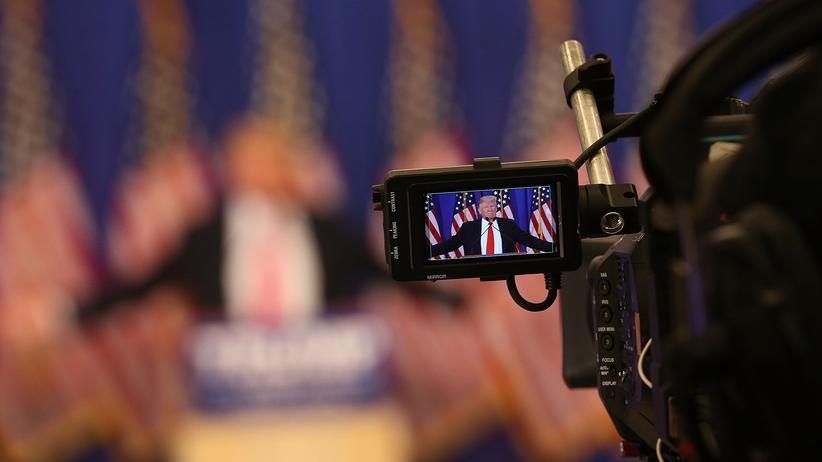 Donald Trump: Donald Trump während des Wahlkampfes in Florida