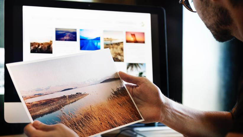 Digitalfotografie: Menschen können sich in ihren digitalen Fotoarchiven verlieren, schreibt Günter Hack.