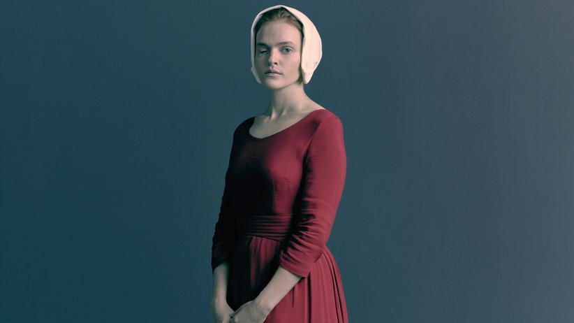"""Feminismus: """"The Handmaid's Tale"""" erzählt von einer Frau (Elisabeth Moss) in einer totalitären, theokratischen Diktatur."""