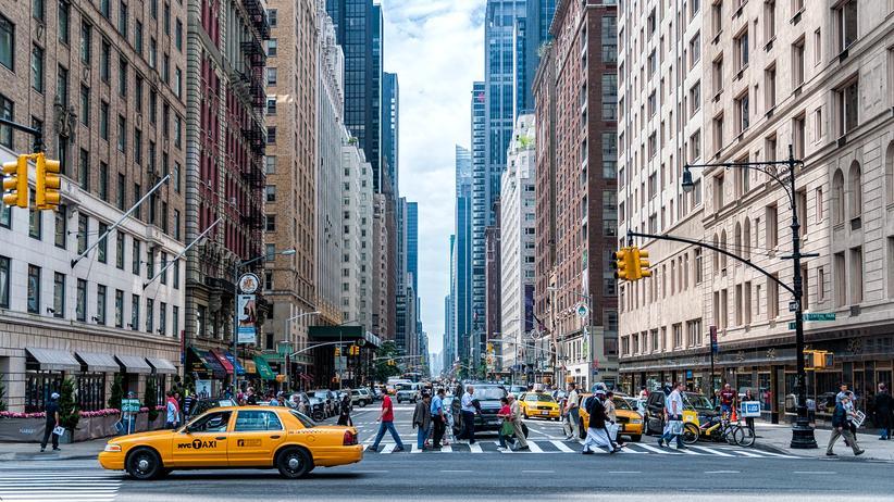 New York: Bekommt man Donald Trump mit Fleckentferner weg? New York ist nicht mehr dieselbe Stadt seit seiner Wahl.