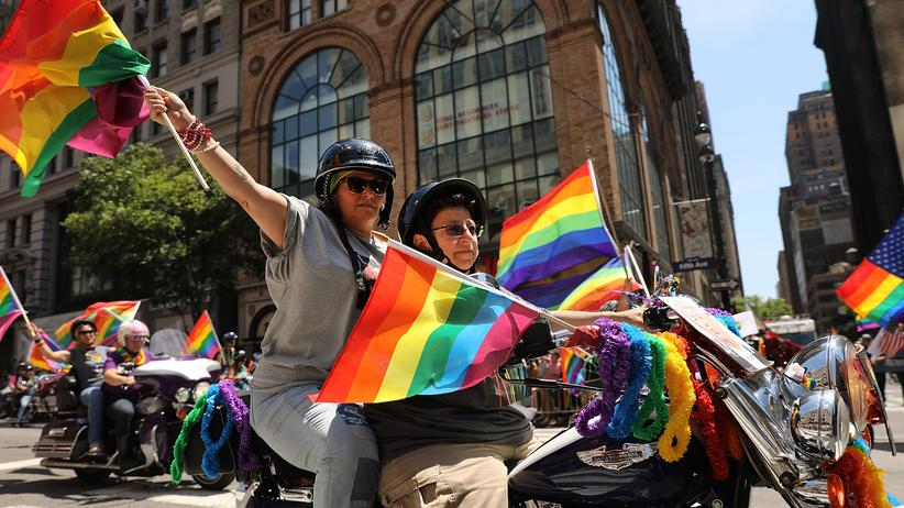 Identitätspolitik: Teilnehmer der Gay Pride Parade in New York, März 2017