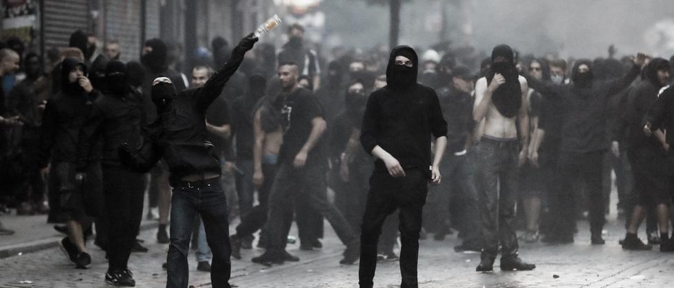 G20-Demonstranten in Hamburg