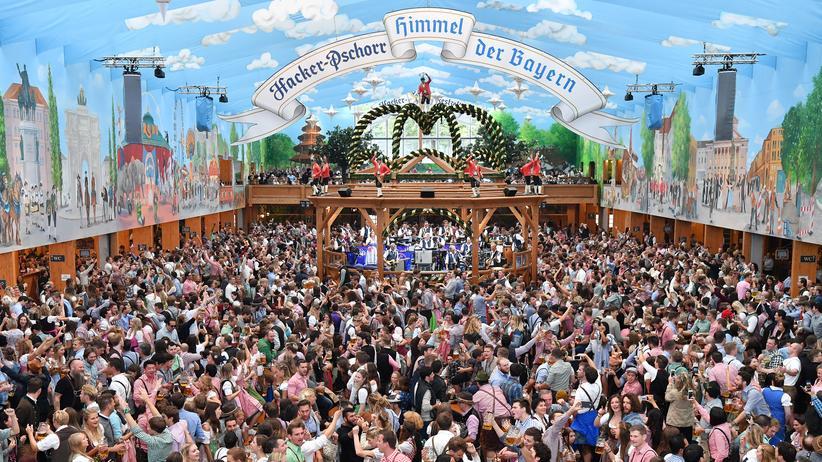 Großveranstaltung: Alle wollen das gleiche: Besucher des Münchner Oktoberfests