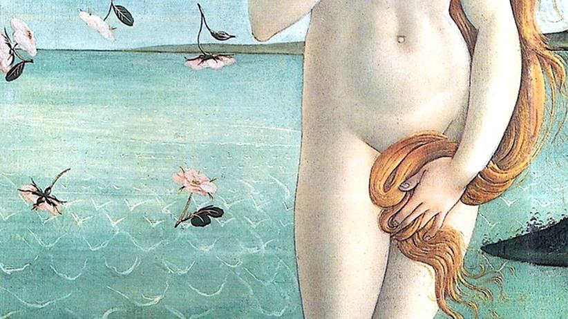 """Sexualität: Ein Ausschnitt aus dem berühmten Gemälde """"Die Geburt der Venus"""" von Sandro Botticelli von 1483"""