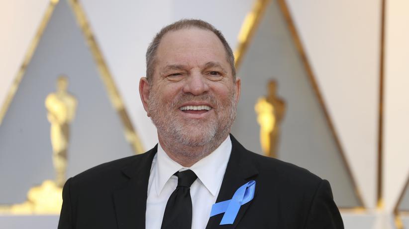 Hollywood: Produzent Harvey Weinstein bei der Oscar-Verleihung 2017