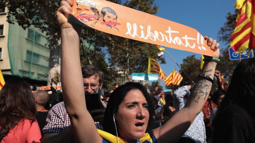 Spanien: Für Katalonien!