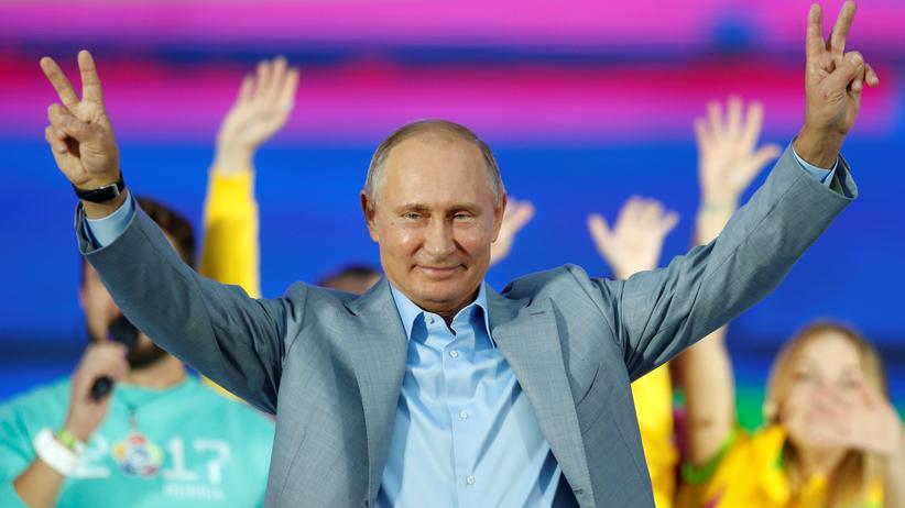 Россия: Vladimir Putin