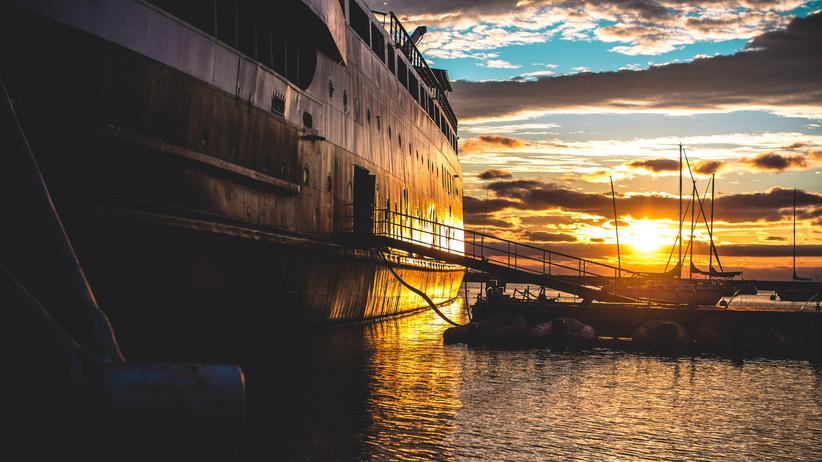 Chicago: Kommen, gehen, kommen, gehen: ein Schiffsanleger in Chicago
