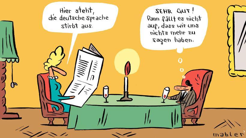 Deutsche Sprache Verschwindet Unsere Sprache Zeit Online