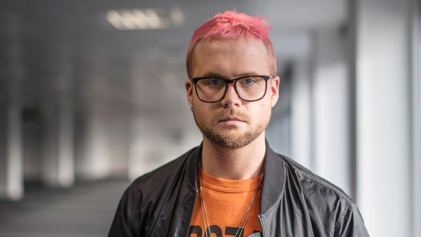 Glücksforschung: Der Whistleblower Christopher Wylie 2018 in London
