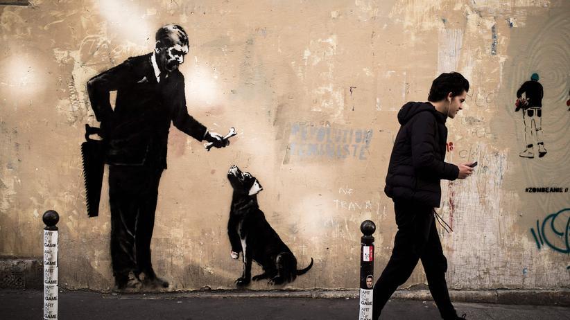 """Street-Art: """"Das ist absolut der Stil von Banksy"""""""