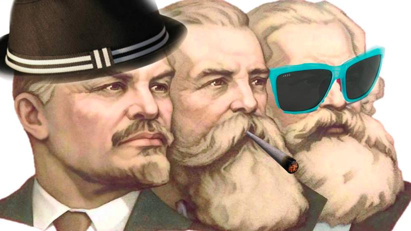 "Memes: Das aktuelle Titelbild der Facebook-Gruppe ""Sassy Socialist Memes"""
