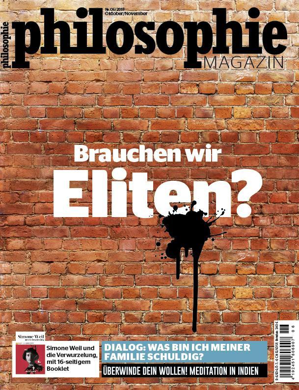 """Elite: Dieser Artikel stammt aus dem """"Philosophie Magazin"""" Nr. 06/2018."""