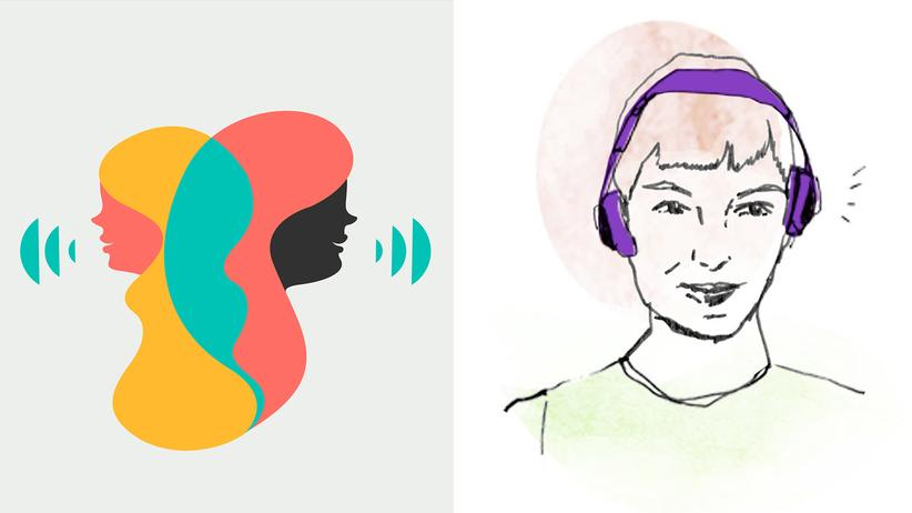"Podcasts: Das hört sich gut an: Die Podcasts ""Call your Girlfriend"" und ""Lila""."