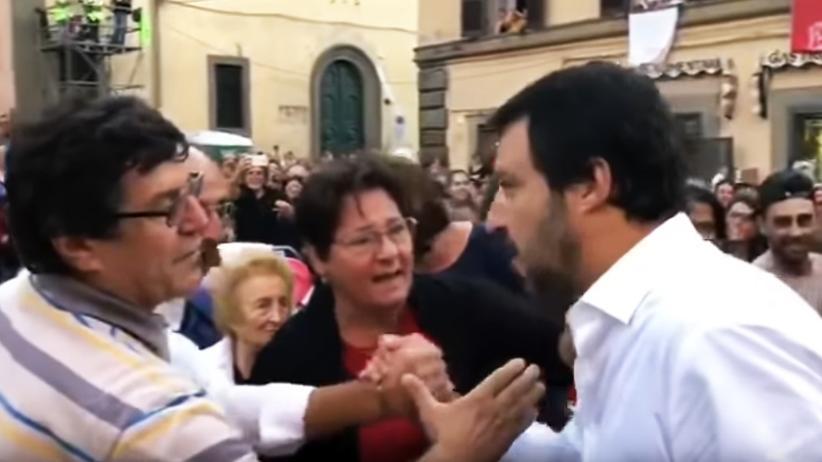 """Matteo Salvini: """"Il grande Matteo!"""""""