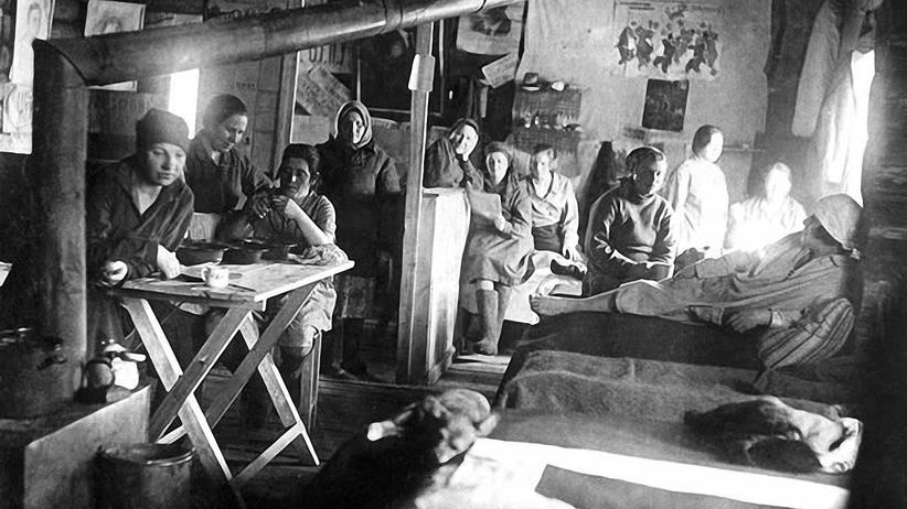 """""""Schermanns Augen"""": Der Gulag war ein Netz von Arbeits- und Straflagern wie diesem in Workuta, in denen in den 1930er- bis 1950er-Jahren 18 Millionen Menschen gefangen gehalten und viele von ihnen ermordet wurden."""