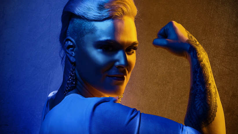 Wrestling: Frau mit Superheldenkörper sucht ...