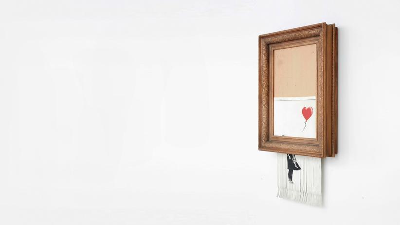Banksy: Erst kaputt ist es so richtig Kunst