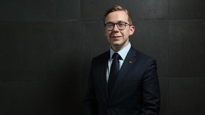 Philipp Amthor: Philipp Amthor, jüngster CDU-Bundestagsabgeordnete