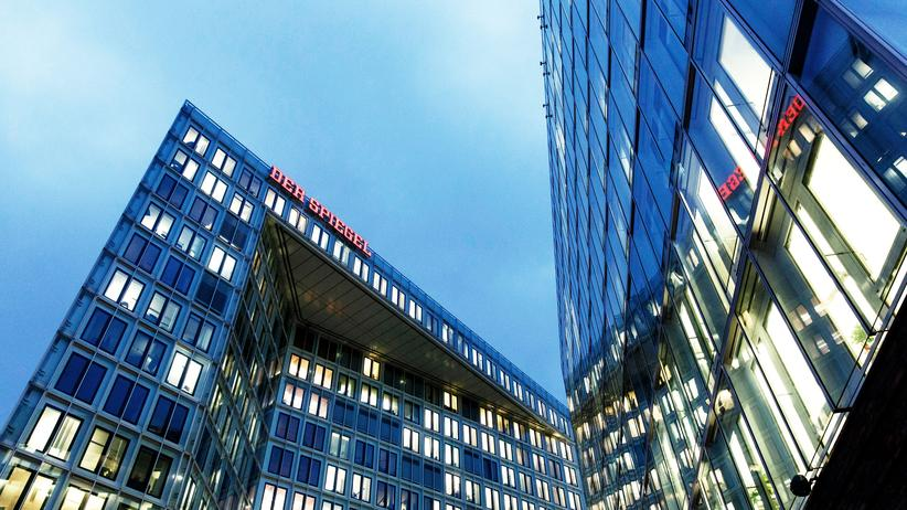 Chefredaktion: Sitz des Nachrichtenmagazins Spiegel in Hamburg