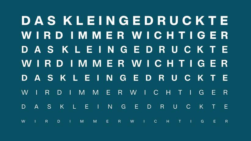 Helvetica Now: Manche Informationen müssen heute auch in kleinsten Schriftgrößen auf Handydisplays lesbar sein.
