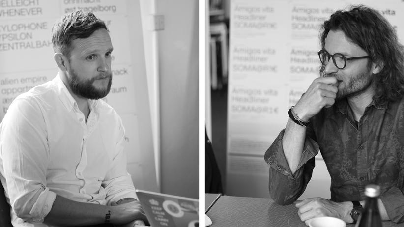 Portraits von Alexander Roth und Jan Hendrik Weber