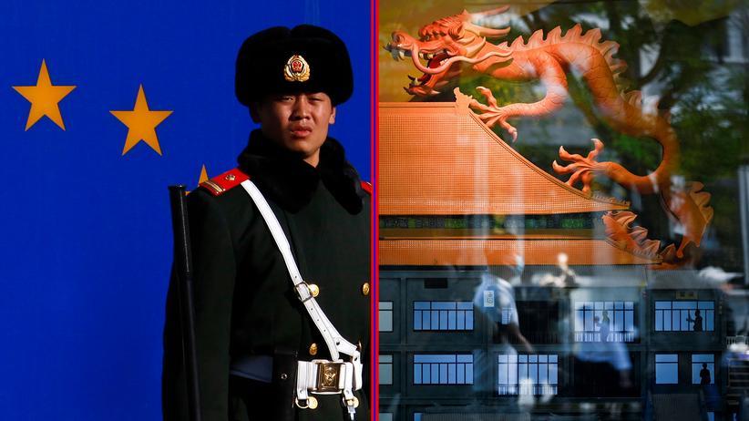 """China: Seine """"Teile und herrsche""""-Politik wendet China auch in Europa an."""