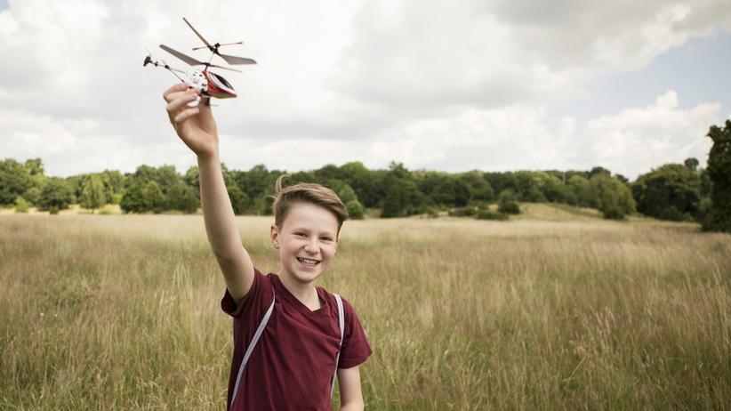Erziehung: Ich glückliches Helikopterkind