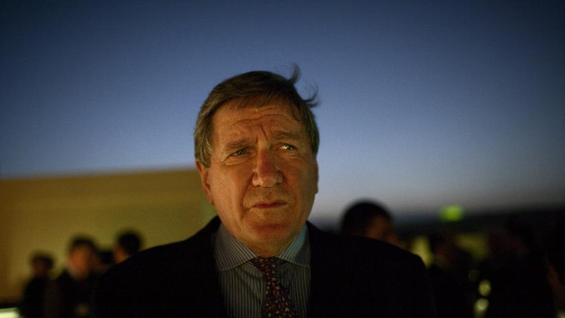 """""""Er war ein lauter, idealistischer, egozentrischer Mann"""": Richard Holbrooke im Juli 2009 in Kabul, in seiner letzten diplomatischen Rolle als US-Sondergesandter für Afghanistan und Pakistan. Anderthalb Jahre später starb Holbrooke."""