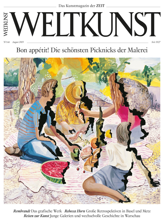 Gegenwartskunst: Dieser Artikel stammt aus Weltkunst Heft Nr. 160/2019