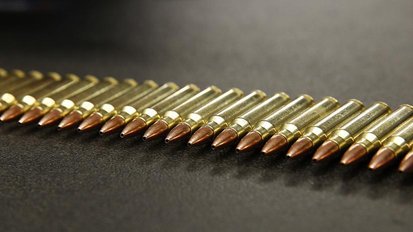 Waffen in den USA: Munition für ein Sturmgewehr der Bauart AR-15, wie sie der Attentäter von Dayton benutzt hat.