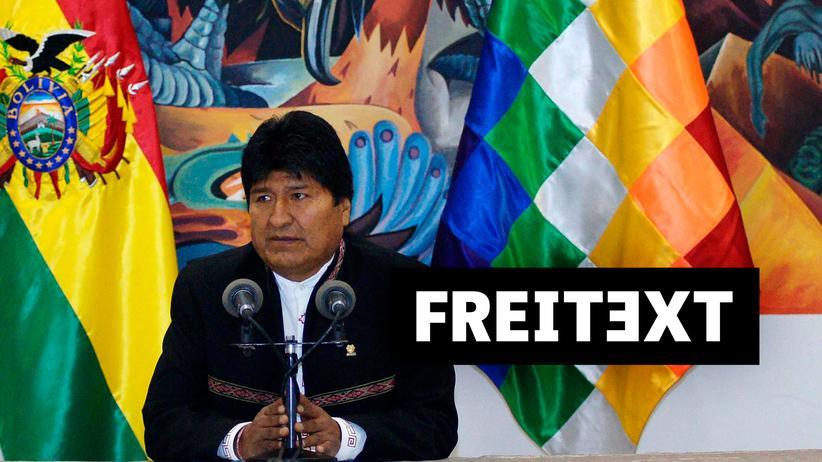 Evo Morales: Bolivien sagt Nein
