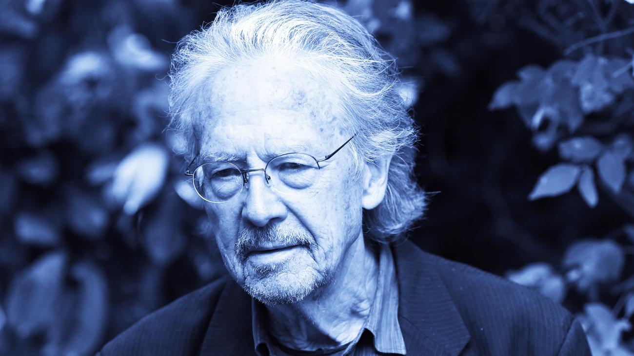 Literaturnobelpreis: Peter Handke bricht Gespräch mit Journalisten ab