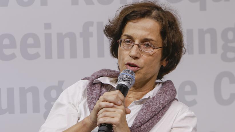 Cornelia Koppetsch: Autorin Cornelia Koppetsch auf der diesjährigen Frankfurter Buchmesse