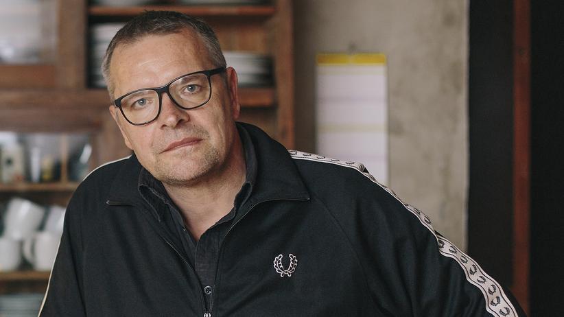 Erziehung im Osten: Jan Kummer, 54, betreibt in Chemnitz den Plattenladen Kiox.