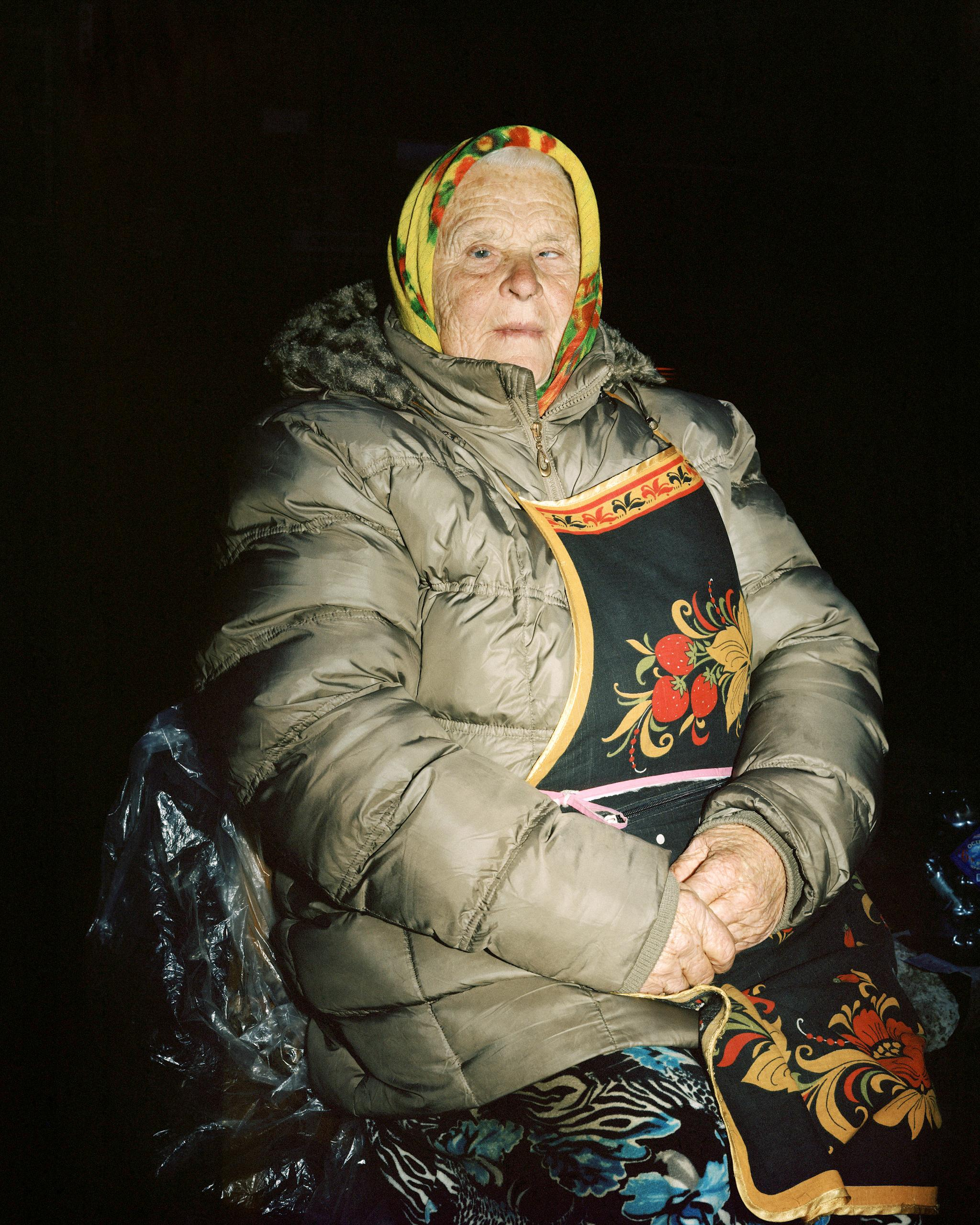"Fotografie: ""Bildnis einer Marktverkäuferin II"", Kaliningrad 2014"