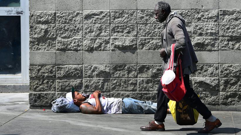 Obdachlosigkeit: Mehr als 36.000 Obdachlose leben in L.A.